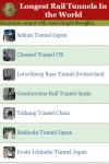 Longest Rail Tunnels In the World screenshot 2/3
