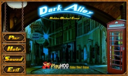 Free Hidden Object Games - Dark Alley screenshot 1/4