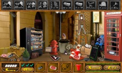 Free Hidden Object Games - Dark Alley screenshot 3/4