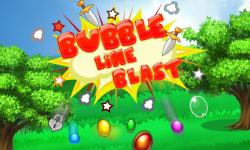 Bubble Line Blast screenshot 1/6