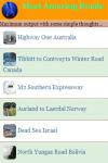 Most Amazing Roads screenshot 2/3