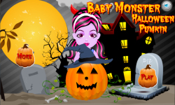 Baby Monster Halloween Pumpkin Decoration screenshot 1/5