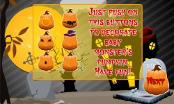 Baby Monster Halloween Pumpkin Decoration screenshot 3/5
