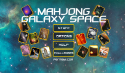 Mahjong Galaxy Space screenshot 1/6