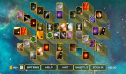 Mahjong Galaxy Space screenshot 2/6