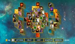 Mahjong Galaxy Space screenshot 4/6