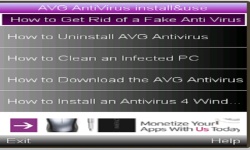 AVG ANTIVIRUS  2015     screenshot 1/1