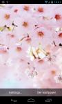 Cherry Flower Live Wallpaper screenshot 2/3