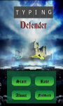 Typing Defender screenshot 1/3