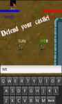 Typing Defender screenshot 2/3