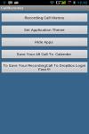 Automatic Call Recorder Free screenshot 1/4