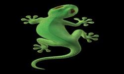 Green Lizard Live Wallpaper screenshot 2/3
