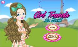 Girl Travels the World screenshot 1/4