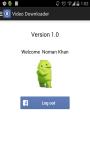 Free Video Downloader for Facebook screenshot 1/4
