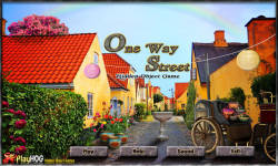 Free Hidden Object Games - One Way Street screenshot 1/4