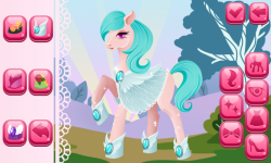 Pony Dress Up Game screenshot 1/6
