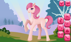 Pony Dress Up Game screenshot 2/6