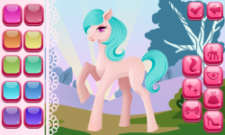 Pony Dress Up Game screenshot 3/6