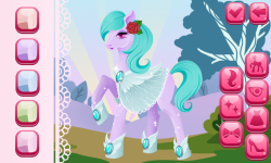 Pony Dress Up Game screenshot 5/6
