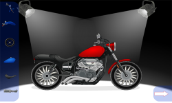 Create A Motorcycle screenshot 2/3