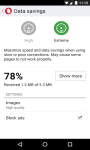 Opera Mini web browser screenshot 2/6