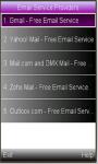 Email Usage screenshot 1/1