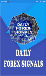 Daily Forex Signals screenshot 1/6
