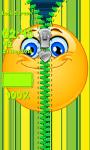 Smiley Zipper Lock Screen Free screenshot 5/6