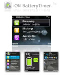 iON BatteryTimer for S60 3rd screenshot 1/1