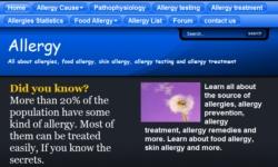 Allergy Secrets screenshot 1/1