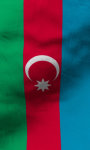 Azerbajian flag Free screenshot 5/5
