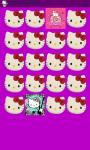 Hello Kitty Memory Game Free screenshot 1/5