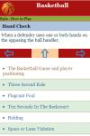 Rules to Play Basketball screenshot 3/3