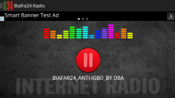 Biafra 24 Radio screenshot 1/2