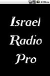 Israel Radio  Pro screenshot 1/3