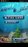 Aqua Balls screenshot 2/5