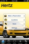 Hertz Car Rental screenshot 1/1