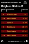 Brighton & Hove Bus Real Time Infoboard screenshot 1/1