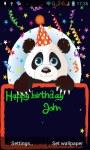Panda congratulations lwp screenshot 1/3