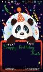 Panda congratulations lwp screenshot 2/3