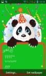 Panda congratulations lwp screenshot 3/3