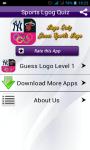 Logo Quiz Guess Sports Logos screenshot 1/6
