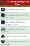 The Best Bulletproof Cars screenshot 3/4