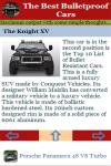 The Best Bulletproof Cars screenshot 4/4