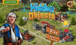 4 Town City Hidden Objects screenshot 1/6