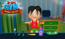 3D Kids Gym Training For Kids screenshot 1/6