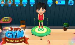 3D Kids Gym Training For Kids screenshot 2/6
