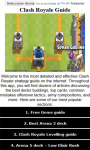Guide and Cheats for Clash Royale screenshot 1/3