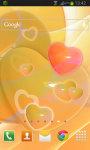 Glowing Hearts LWP screenshot 2/2