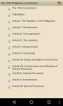 The 1943 Philippines Constitution screenshot 3/4
